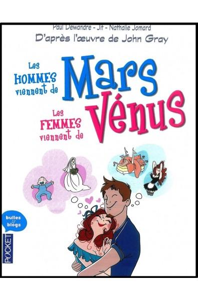BD poche - Les hommes viennent de Mars...