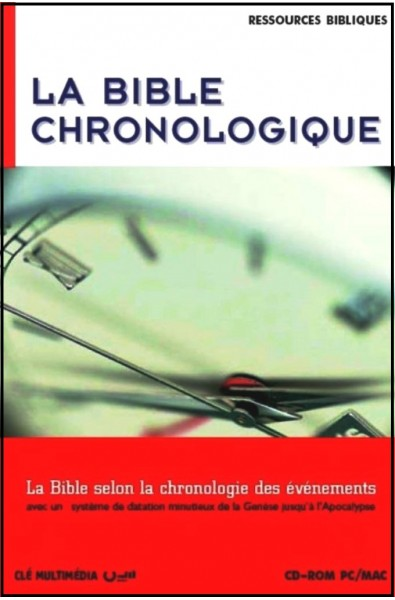 CD-ROM - Bible chronologique