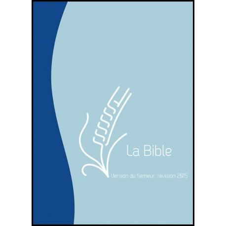Bible du Semeur 2015, bleu, souple