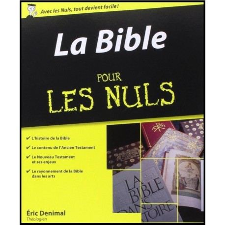 Bible pour les nuls la librairie vie et sant - La bible pour les nuls ...