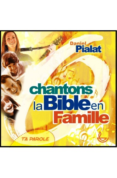 CD - Chantons la Bible en famille