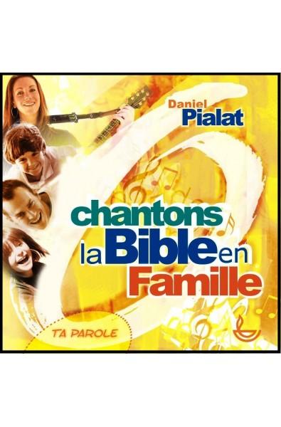 CD - Chantons la Bible en famille
