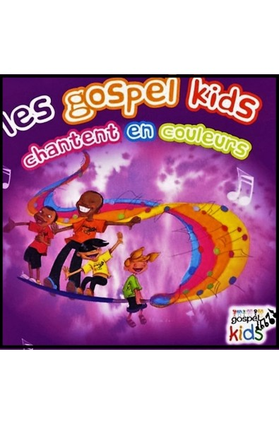 CD - Gospel Kids chantent en couleur