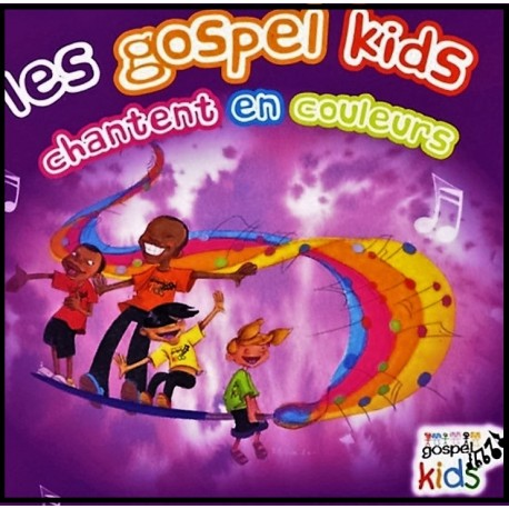 CD - Gospel Kids chantent en couleur