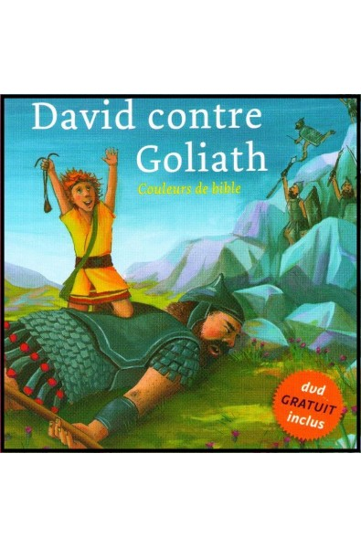 DVD + Livre - Couleurs de Bible - David contre Goliath