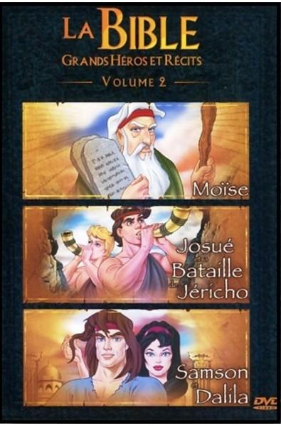 DVD - Bible, La - Grands héros et récits 2