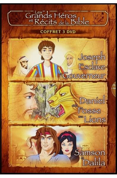 DVD - Grands Héros et Récits 2 : Joseph, Daniel, Samson