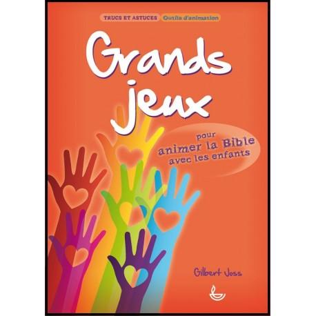Grands jeux pour animer la Bible avec des enfants