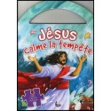 Jésus calme la tempête - Avec 4 petits puzzles