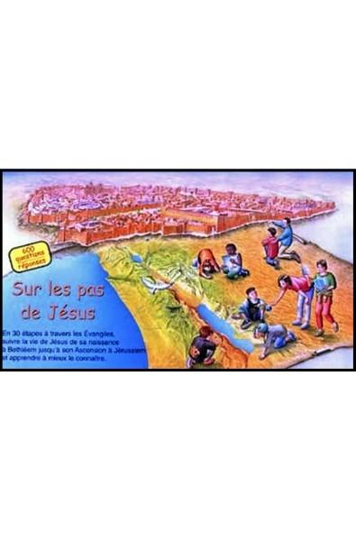 Jeu - Sur les pas de Jésus