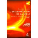 L'interprétation de la Bible