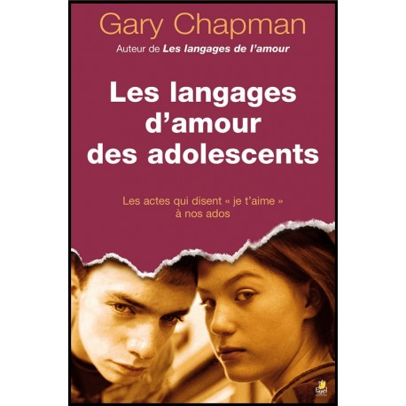 Langages d'amour des adolescents