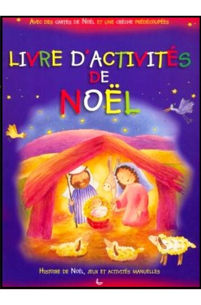 Livre d'activités de Noël