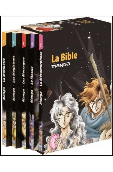 BD Manga Coffret - Intégrale 5 vol.