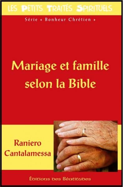Mariage et famille selon la Bible