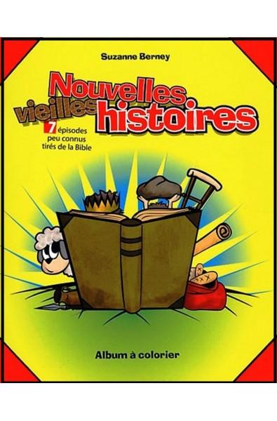 Nouvelles vieilles histoires - Album à colorier