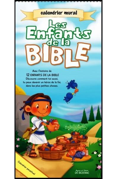 "Calendrier ""Les enfants de la Bible"""