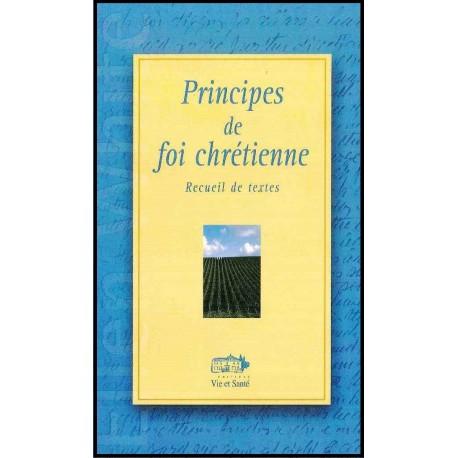 Principes de foi chrétienne