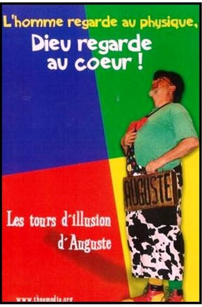 Clown Auguste - DVD Dieu regarde au coeur !