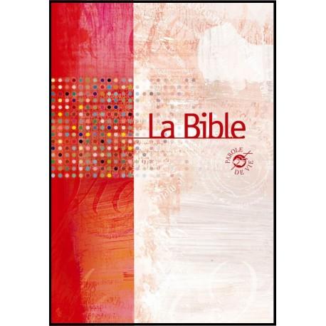 Bible PDV brochée souple avec deutéro