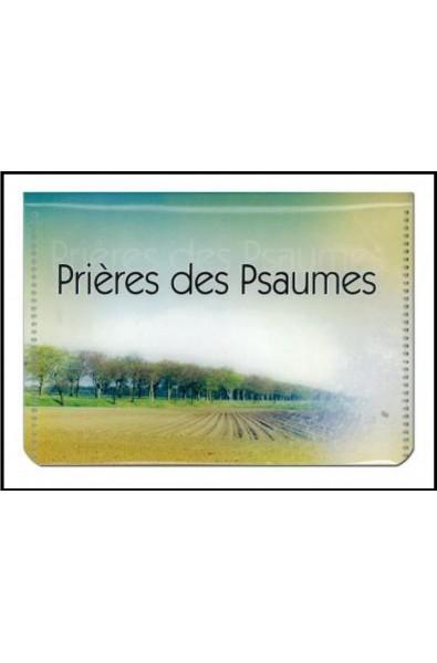 Prières des Psaumes, pochette 20 cartes