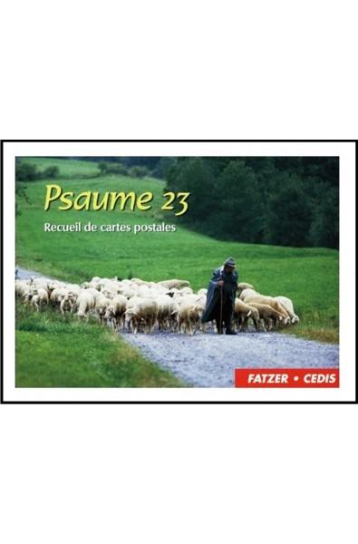 Psaume 23 , receuil de 15 cartes postales