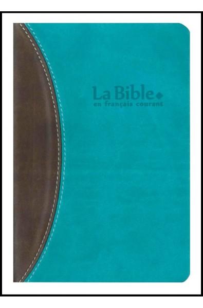 Bible FC, duotone, brun-turquoise
