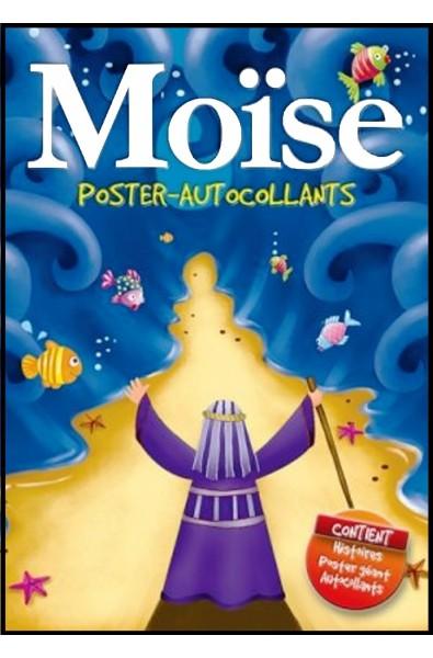 Moïse, poster-autocollants