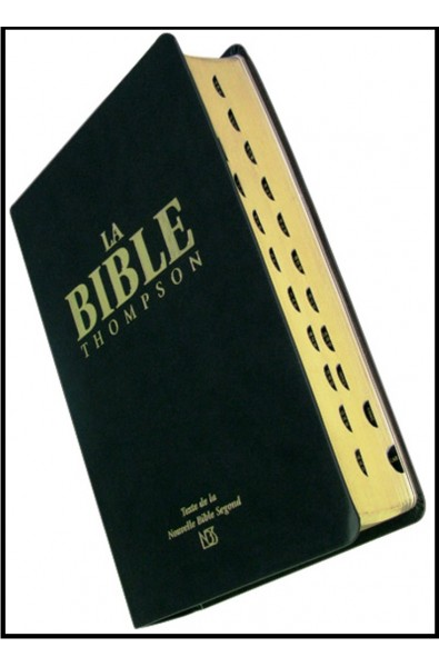 Bible NBS Thompson, souple, onglets
