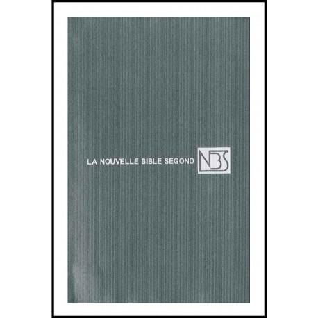 Bible NBS, sans deutéro, grise