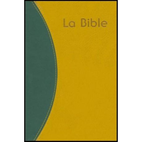 Bible du Semeur, vert-ocre, ferm éclair