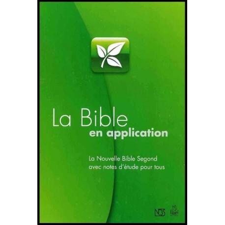 Bible en application - NBS études pour tous
