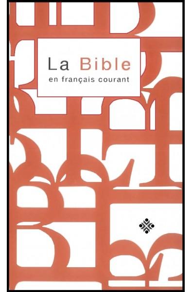 Bible FC reliée, brun, avec deutéro