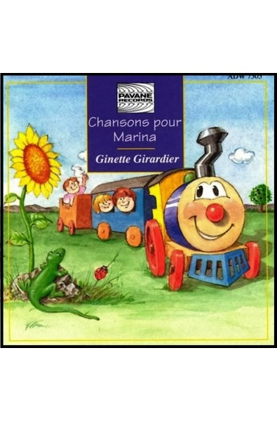 CD - Chansons pour Marina