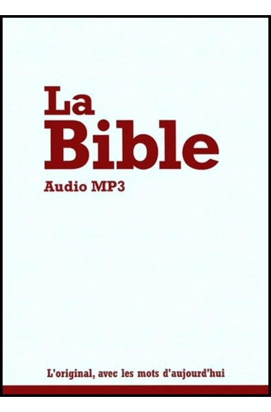 CD-Audio-MP3 - Bible Segond 21