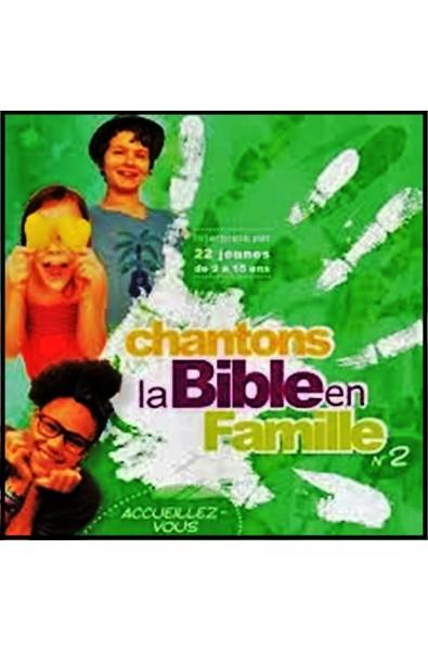 CD - Chantons la Bible en famille n°2