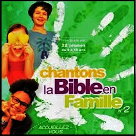 CD - Chantons la Bible en famille n°2