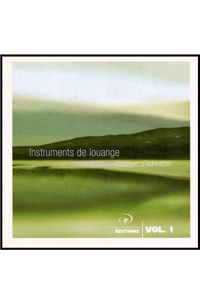CD - JEM - Instruments de louange Vol. 1