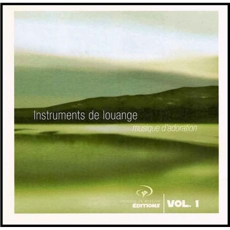 CD - JEM - Instruments de louange Vol. 1