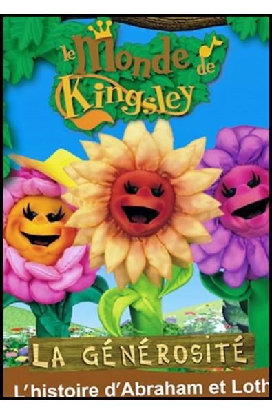 DVD -  Monde De Kingsley 3 -  Histoire d'Abraham et Lot, La générosité