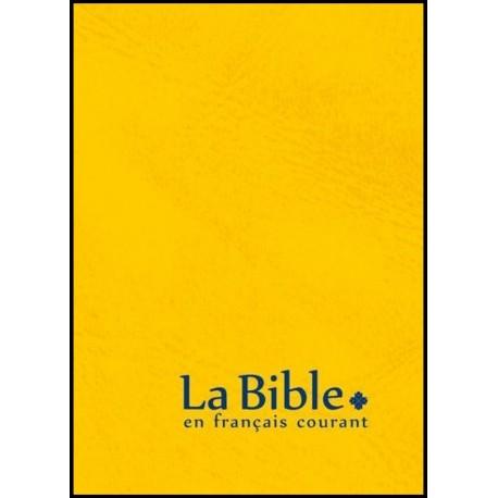 Bible FC - poche, safran, sans deutéro.