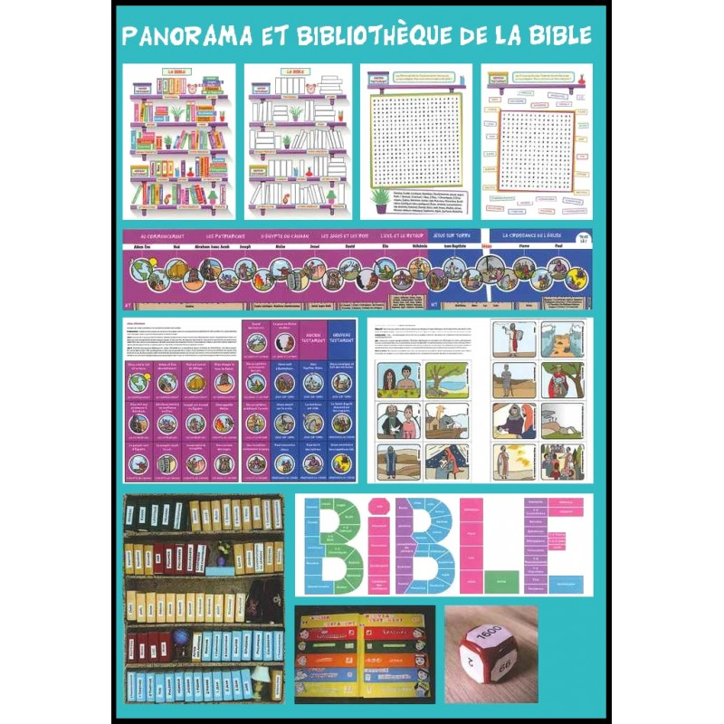 kit panorama et biblioth que de la bible librairie vie et sant. Black Bedroom Furniture Sets. Home Design Ideas