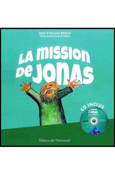 Mission de Jonas, La   (livre + CD)