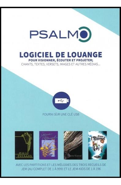 Psalmo - Le logiciel de louange, version 1.5 - Edition 2017 mise à jour