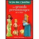 Jeu des 7 familles - Grands personnages de la Bible, Les