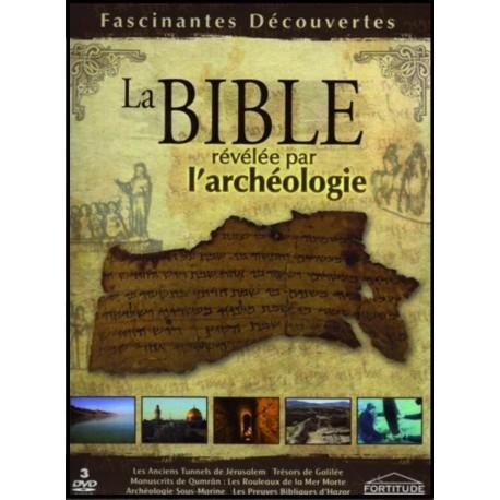Coffret 3 DVD - Bible révélée par l'archéologie