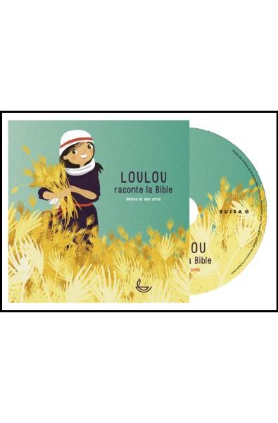 CD - Loulou raconte la Bible - Moïse et ses amis