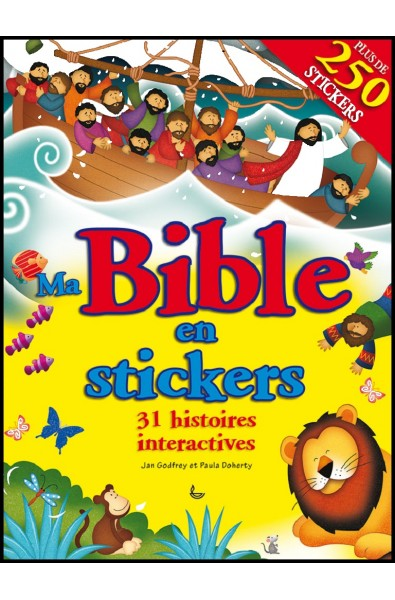 Ma Bible en stickers - 31 histoires interactives