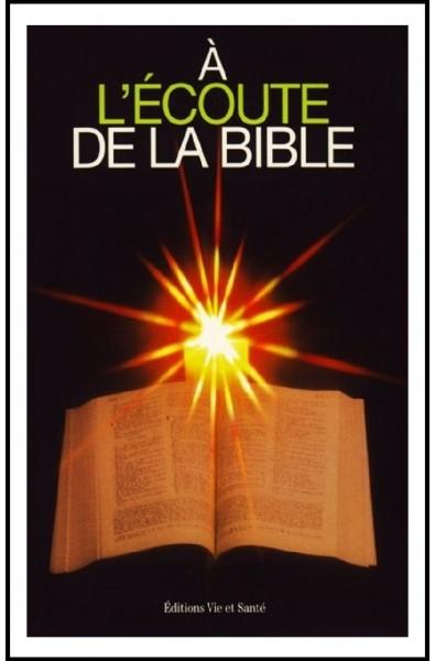 A l'écoute de la Bible